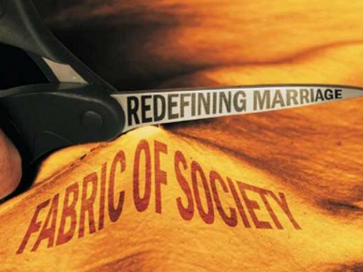 Redefinition of Marriage