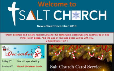 Salt Church Monthly News Sheet Dec 2019