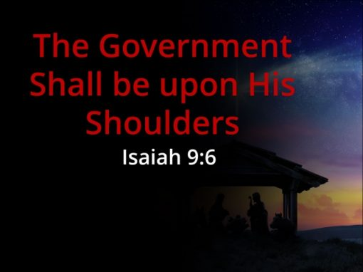 Jesus Brings God's Government