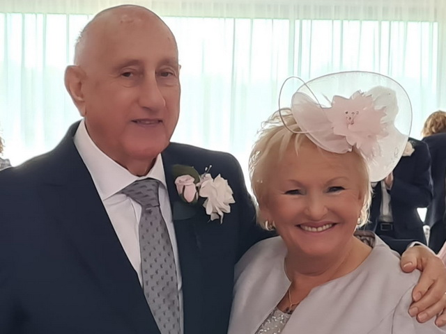 30th October 2020: Marriage Blessing for Bill and Barbara