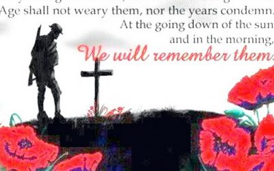 Remembrance Sunday: 8th November 2020
