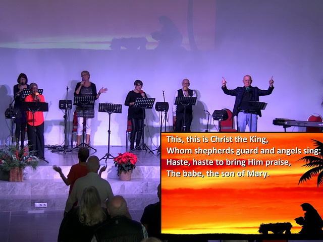 Sunday Service Highlights: Carol Service, 13th December 2020